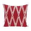 e by design Gate Keeper Geometric Throw Pillow