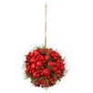 Sage & Co. Cherry Hill Lane Berry and Pine Cluster Orb