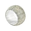 Saro Beaded Napkin Ring (Set of 4)
