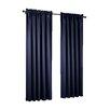 Sun Zero Groton Rod Pocket Single Curtain Panel