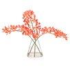Distinctive Designs Waterlook Silk Vanda Orchids in Rocking Glass Vase