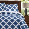 Echelon Home Diamond Ikat Duvet Cover Set