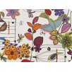 The Designs of Distinction Flower and Bird Indoor/Outdoor Placemat (Set of 2)