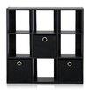 "Furinno Simplistic 26.5"" Cube Unit"