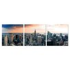 Furinno Furinno Senia Wall Mounted Triptych 3 Piece Photographic Print Set