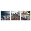 Furinno Brisbane Pier 3 Piece Photographic Print Wrapped Canvas Set