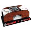 Trademark Global Trademark Poker Wooden Card Shuffler