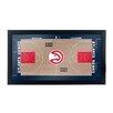 Trademark Global NBA Court Framed Graphic Art