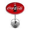 Trademark Global Coca-Cola 100th Anniversary Pub Table