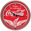 "Trademark Global Coca Cola 14"" Wall Clock"