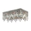 Worldwide Lighting Cascade 4 Light Flush Mount
