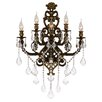 Worldwide Lighting Versailles 5 Light Crystal Wall Sconce