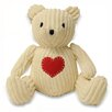 Riva Home Teddy Heart Polyester Door Wedge