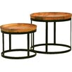 Mobital Olive 2 Piece End Table Set