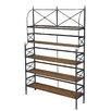 """Sarreid Ltd Bistro 76"""" Standard Bookcase"""