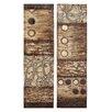 Woodland Imports 2 Piece Canvas Art Wall Décor Set