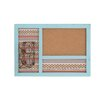 Woodland Imports Attractive and Lovely 1' x 2' Bulletin Board