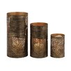 Woodland Imports 3 Piece The Amazing Metal Hurricane Set