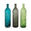 Woodland Imports Glass Vase (Set of 3)