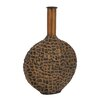 Woodland Imports Fascinating Contemporary Styled Metal Vase