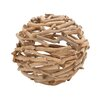 Woodland Imports The Exceptional Driftwood Decorative Ball