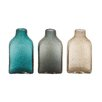Woodland Imports Delicate Glass Bottle Vase (Set of 3)