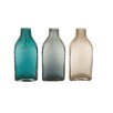 Woodland Imports Lovely Glass Bottle Vase (Set of 3)