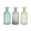 Woodland Imports Great Glass Bottle Vase (Set of 3)