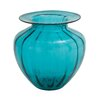 Woodland Imports Glass Fluted Vase