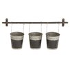 Woodland Imports Round Wall and Hanging Planter