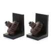 Woodland Imports Rusted Gear Bookend II (Set of 2)