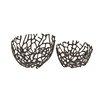 Woodland Imports Simply Distinctive Aluminum Decorative Bowl 2 Piece Set
