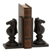 Woodland Imports Exquisite Chess Book Ends (Set of 2)