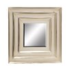 Woodland Imports Distinctive and Captivating Metal Wall Mirror