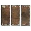 Woodland Imports 3 Piece Wood Panel Wall Décor Set