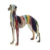 Woodland Imports Abstract and Artistic Polystone Dog Statue