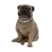 Woodland Imports Simply Delightful and Bubbly Polystone Dog Statue