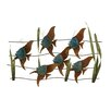 Woodland Imports Simply Delightful Metal Wall Décor