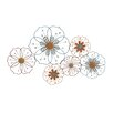 Woodland Imports Big but Simple Metal Wall Décor