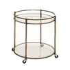Woodland Imports Simply Artistic Serving Cart