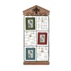 Woodland Imports Simply Lovely Metal Wood Wall Picture Frame