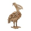 Woodland Imports Enthralling Driftwood Pelican Figurine