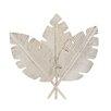 Woodland Imports Decorative Superbly Designed Stainless Steel Leaf
