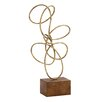 Woodland Imports Metal Abstract Sculpture