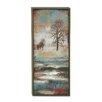 Woodland Imports 'Landscape Portray' Framed Painting Print