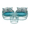 Woodland Imports 3 Piece Lounge Seating Group with Cushion
