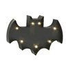 Woodland Imports Smartly Styled Metal LED Wall Bat