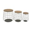 Woodland Imports 3 Piece Magnificent Basket Set