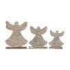 Woodland Imports 3 Piece Lovely Angel Set