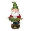 Gnome Decorative Tray Bird Feeder - Woodland Imports Bird Feeders